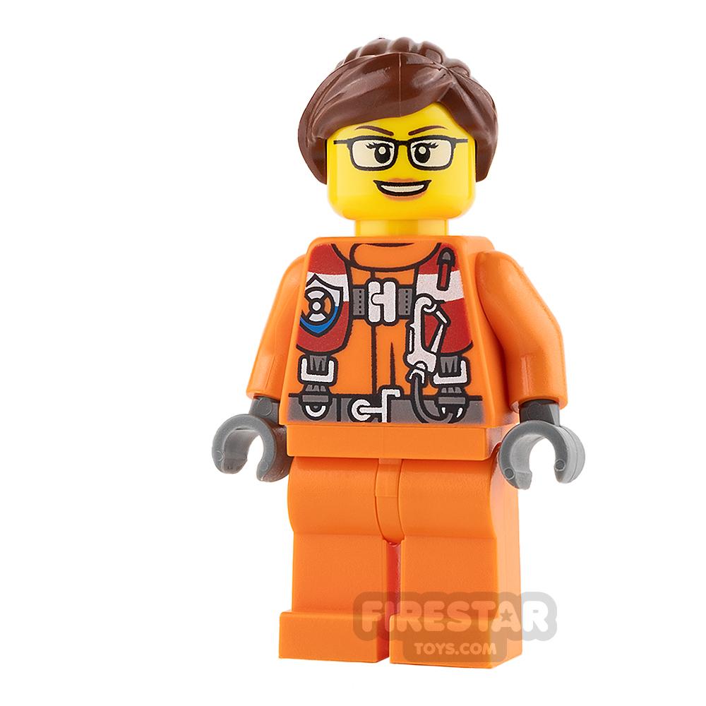 LEGO City Mini Figure - Female City Coast Guard