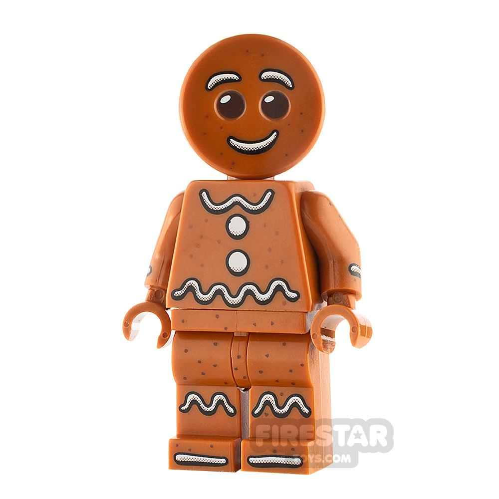 LEGO City Minifigure Gingerbread Man