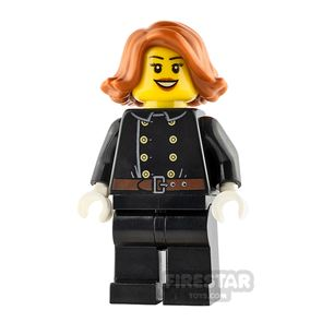 LEGO City Minifigure Firewoman Jacket with 8 Buttons