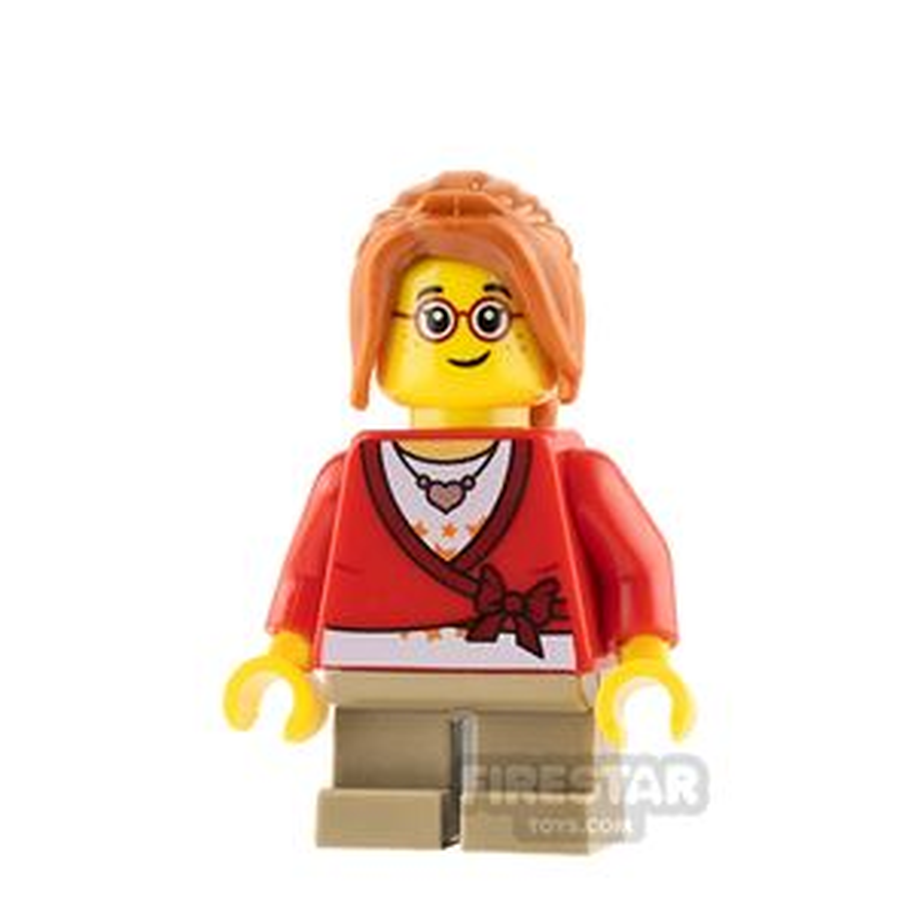 LEGO City Minifigure Cropped Sweater