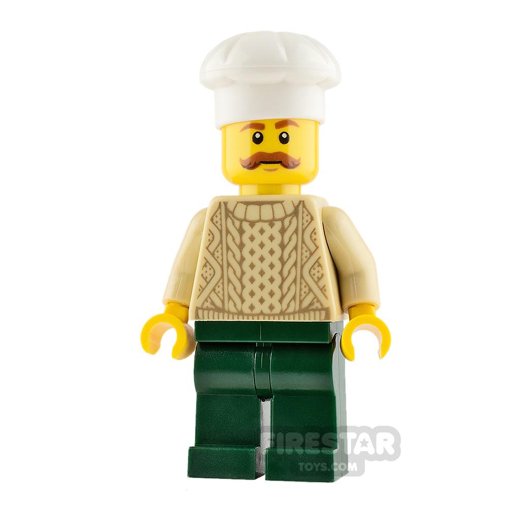 LEGO City Minifigure Chef