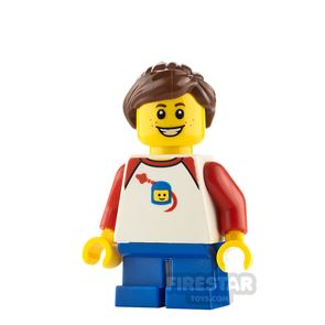 LEGO City Minifigure Space T-shirt and Freckles
