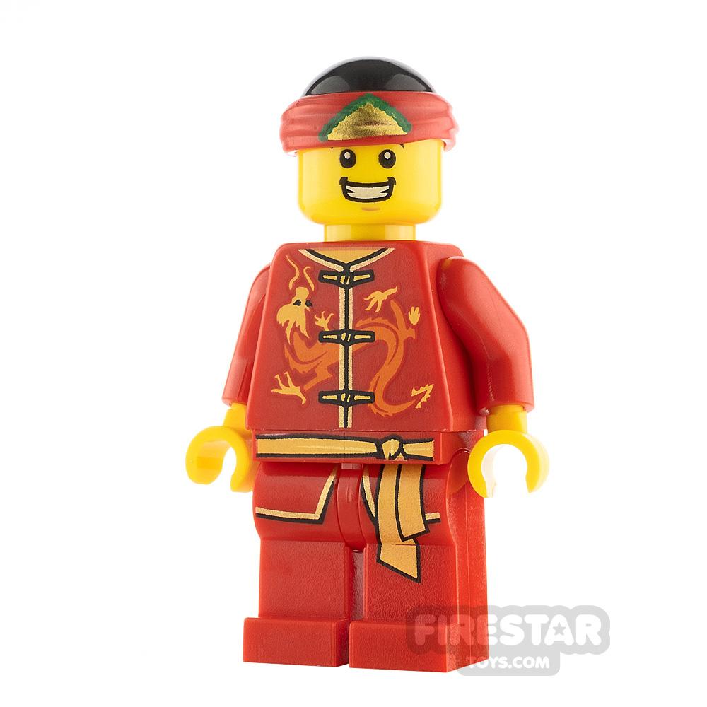 LEGO City Minifigure Dragon Dance Performer Smile