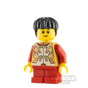 LEGO City Minifigure Chinese New Year Son