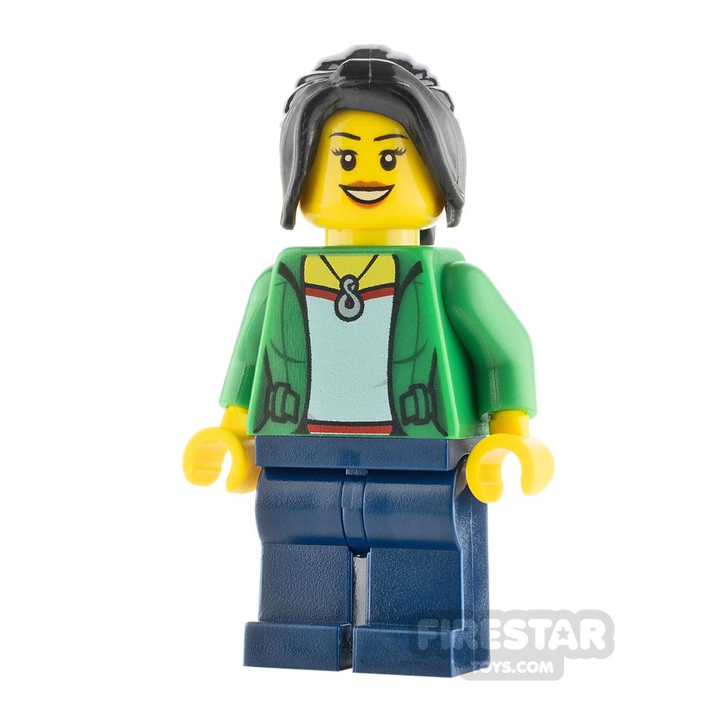 LEGO City Minifigure Dragon Boat Race Spectator Female
