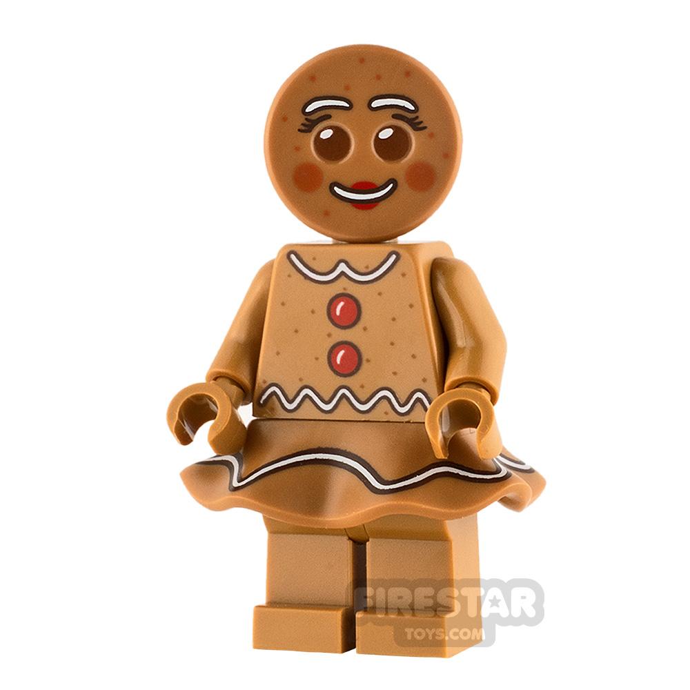 LEGO City Minifigure Gingerbread Woman