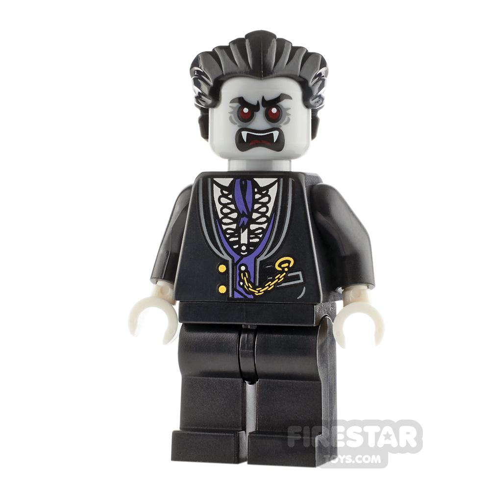 LEGO City Minifigure Vampire Dark Purple Vest