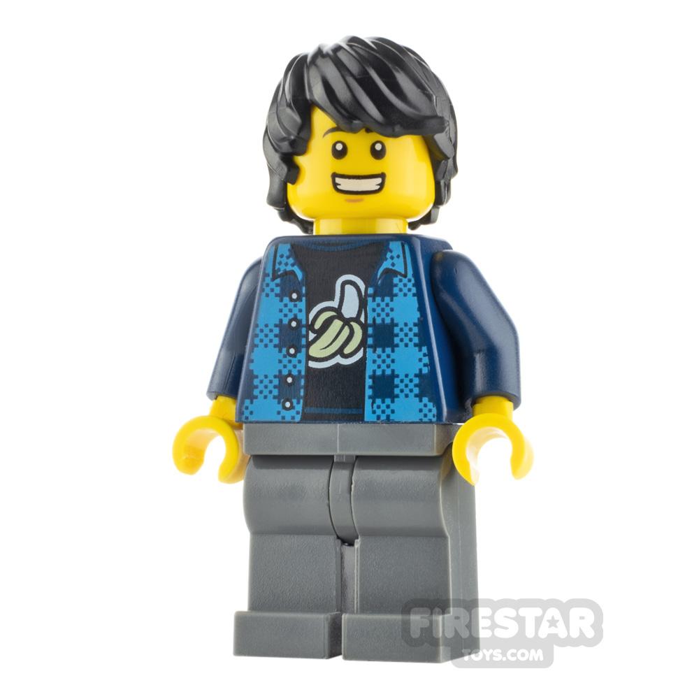 LEGO City Minfigure Man Banana Top