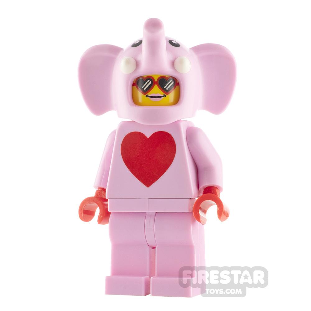 LEGO City Minifigure Love Elephant