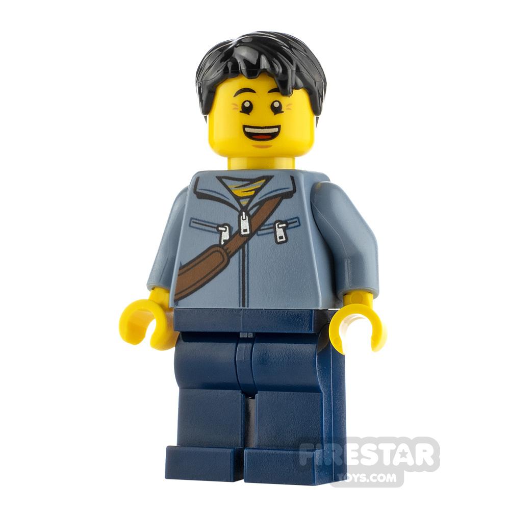LEGO City Minifigure Man with Messenger Bag