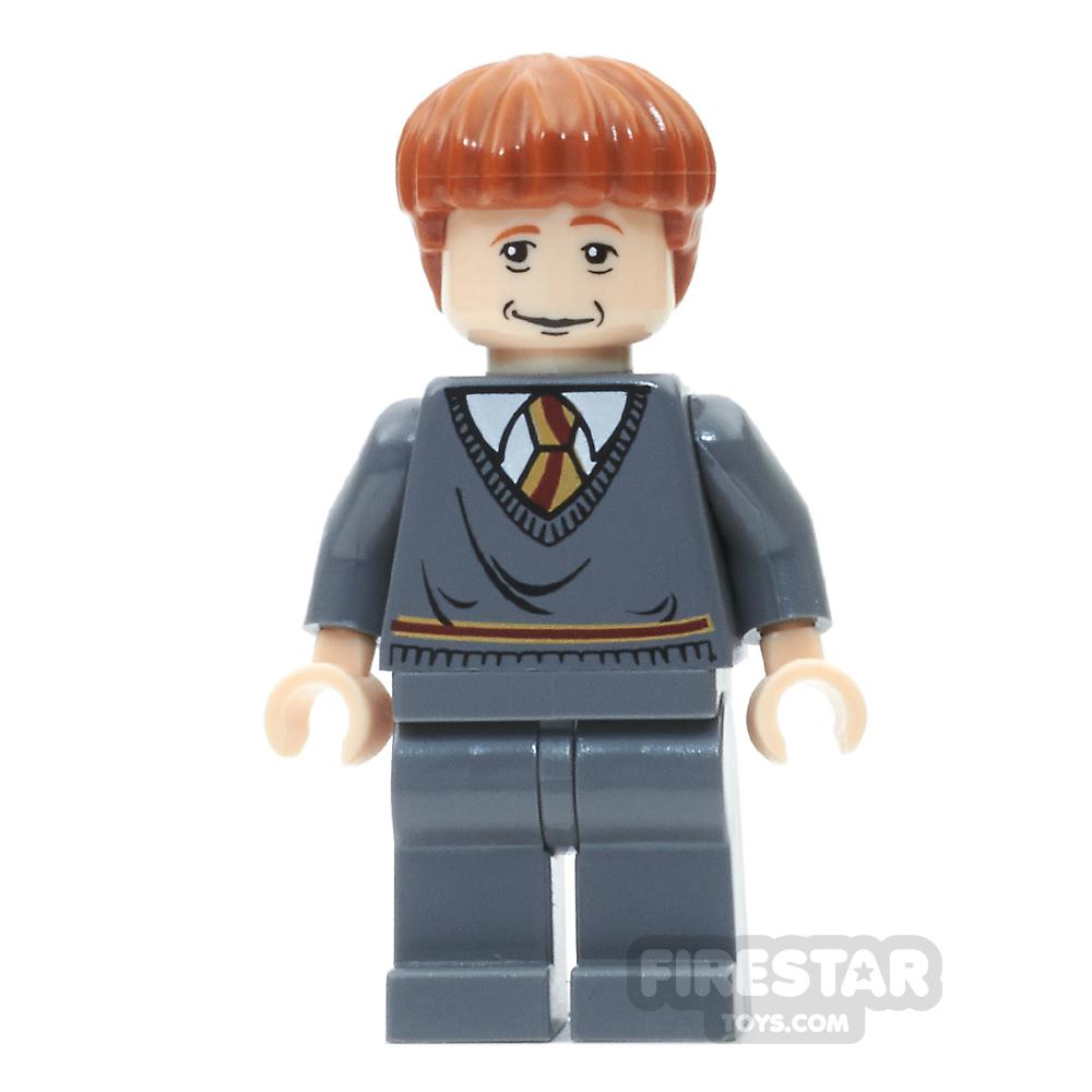 LEGO Harry Potter Mini Figure - Ron - Sleeping / Awake Face