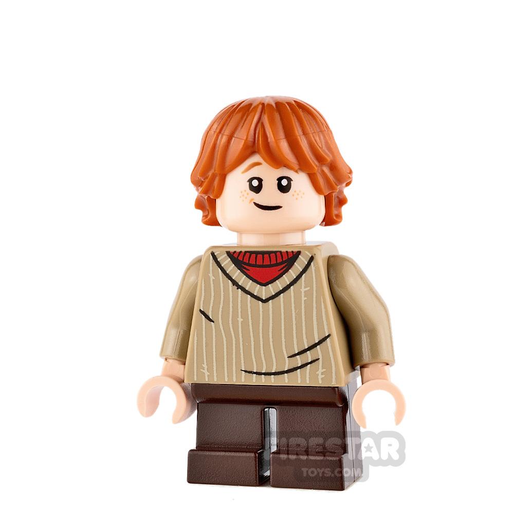 LEGO Harry Potter Mini Figure - Ron Weasley - Dark Tan Sweater