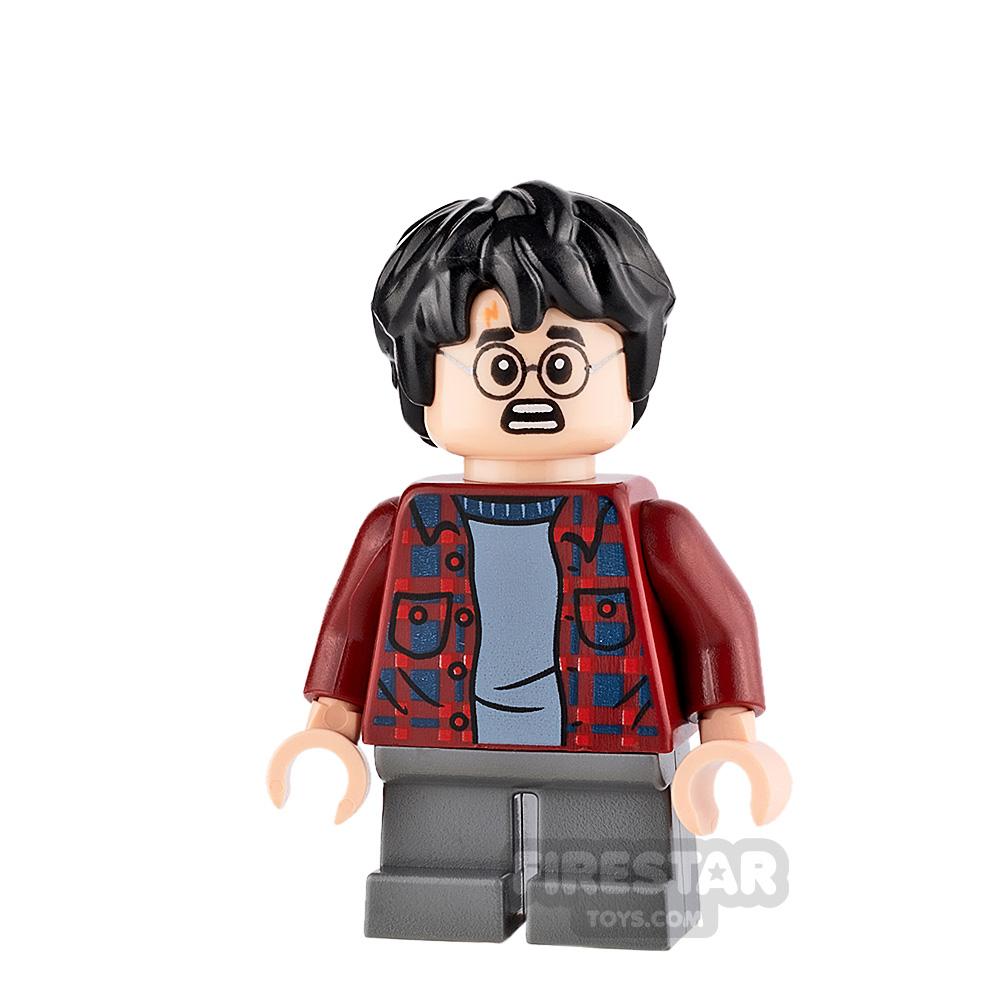 LEGO Harry Potter Mini Figure - Harry Potter - Flannel Shirt