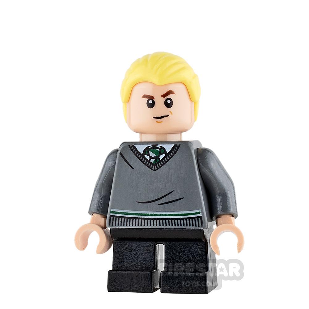 LEGO Harry Potter Mini Figure - Draco Malfoy - Slytherin Jumper