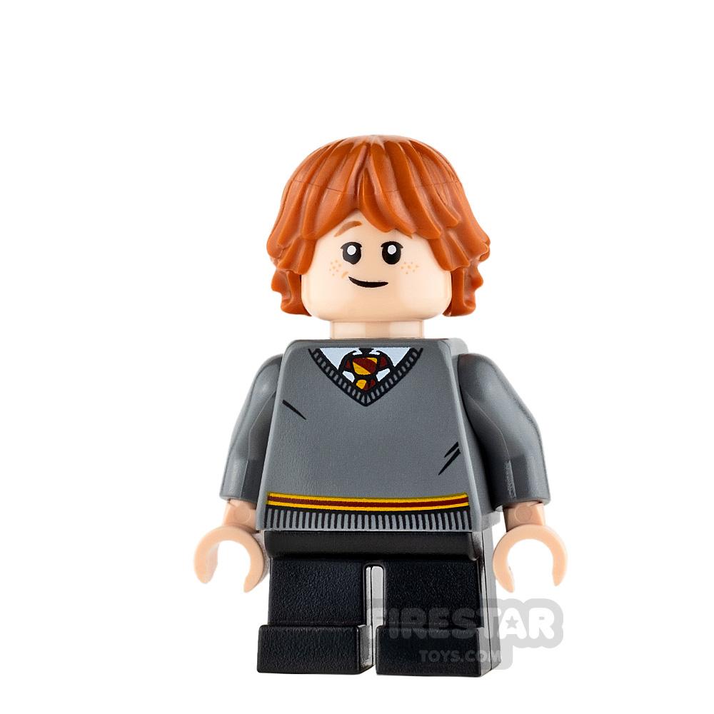 LEGO Harry Potter Mini Figure - Ron Weasley - Gryffindor Jumper