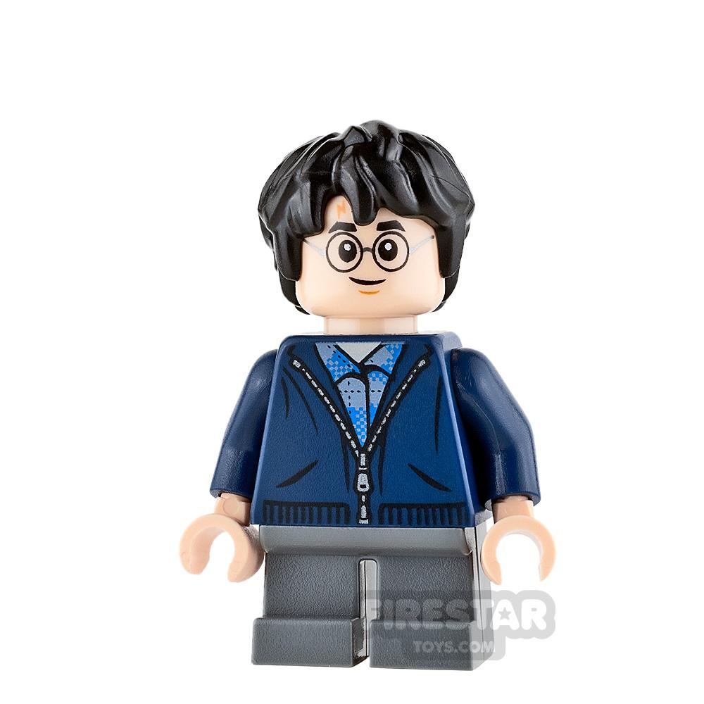 LEGO Harry Potter Mini Figure - Harry Potter - Dark Blue Hoodie