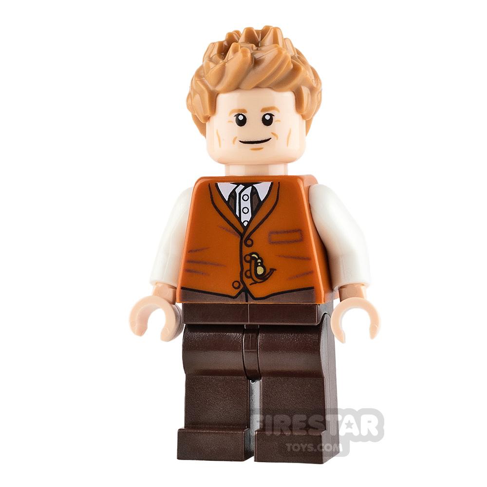 LEGO Harry Potter Minifigure Newt Scamander