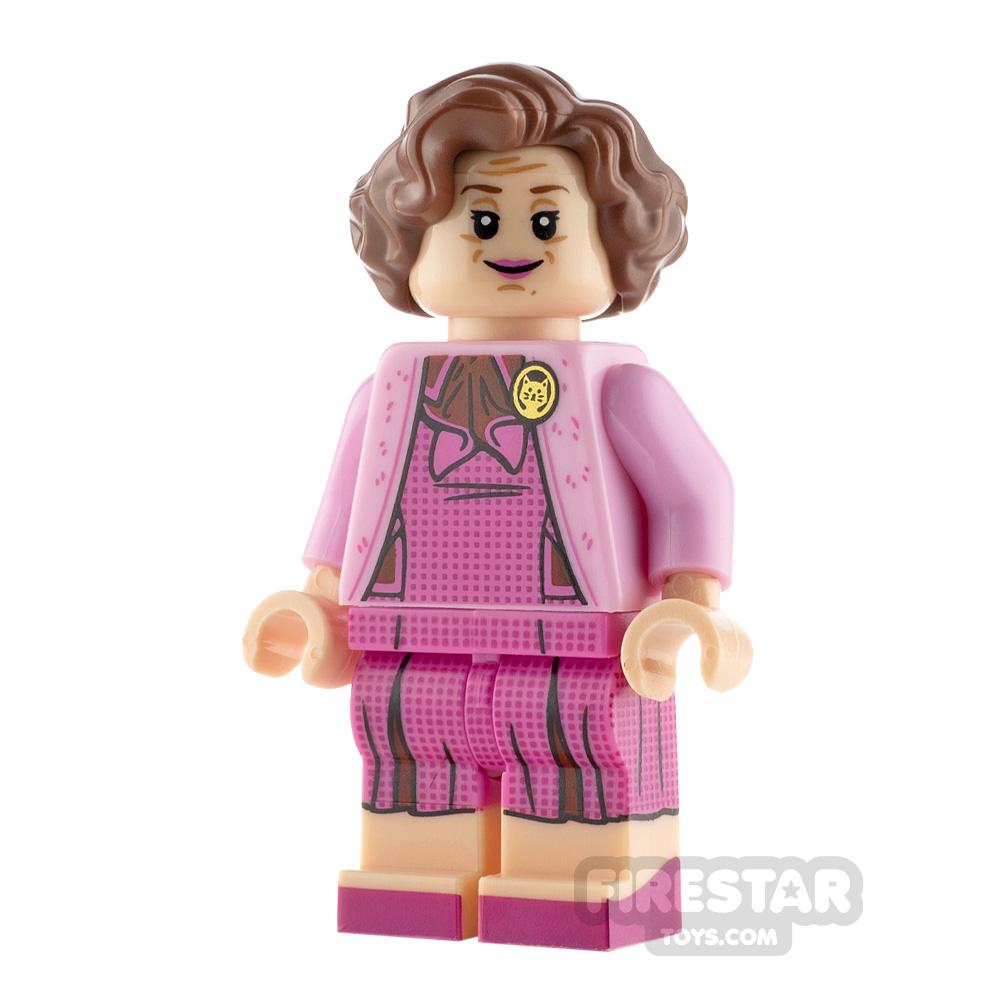 LEGO Harry Potter Minifigure Dolores Umbridge Dark Pink Dress