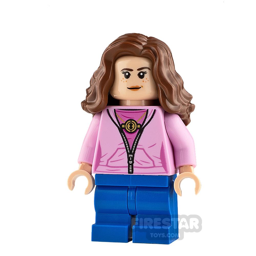 LEGO Harry Potter Minifigure Hermione Granger Pink Jacket