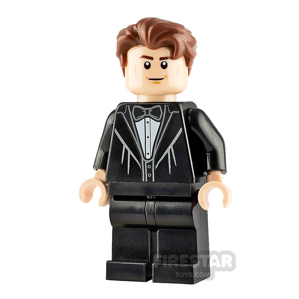 LEGO Harry Potter Minifigure Cedric Diggory Black Suit