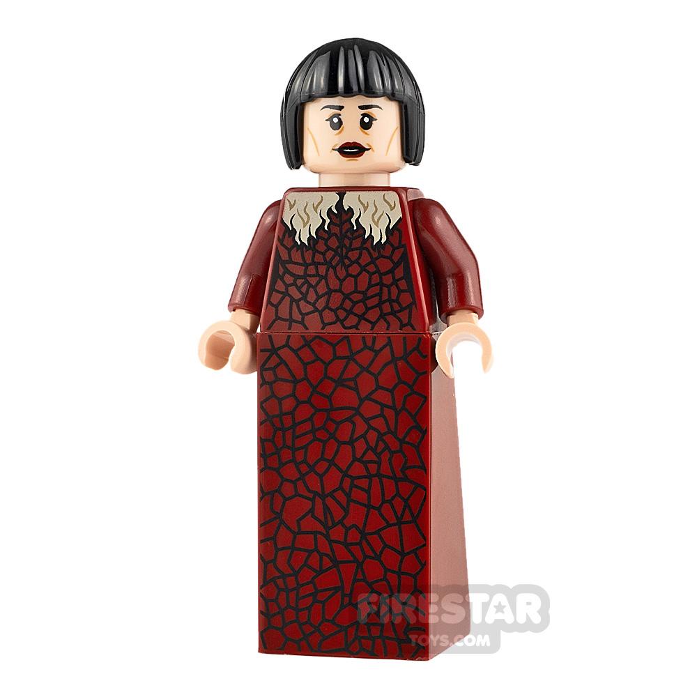 LEGO Harry Potter Minifigure Madame Maxime Dark Red Dress