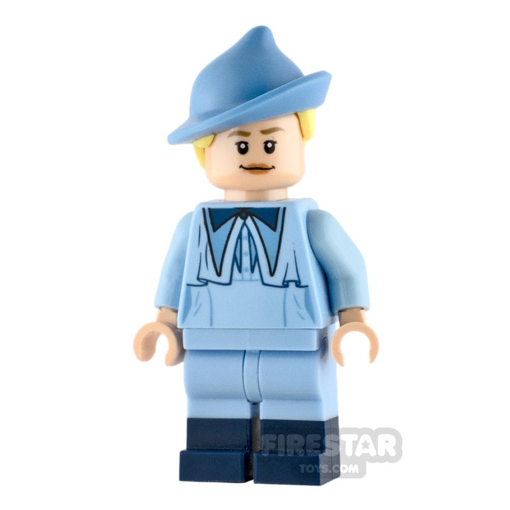 LEGO Harry Potter Minifigure Fleur Delacour Blue Robe