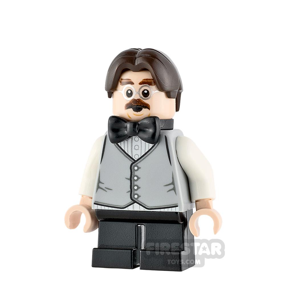 LEGO Harry Potter Minifigure Filius Flitwick Gray Vest