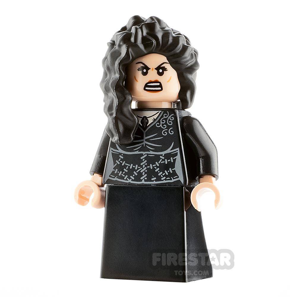 LEGO Harry Potter Minifigure Bellatrix Lestrange Black Dress