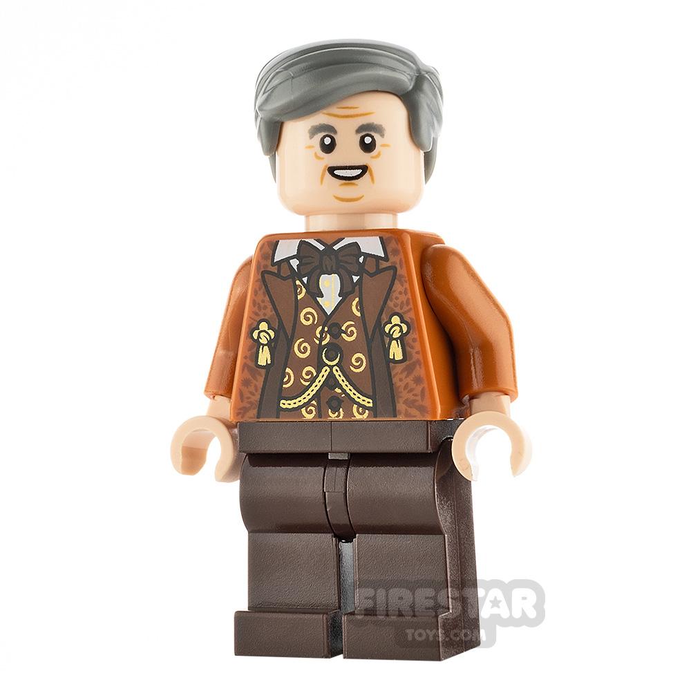 LEGO Harry Potter Minifigure Horace Slughorn Brown Vest