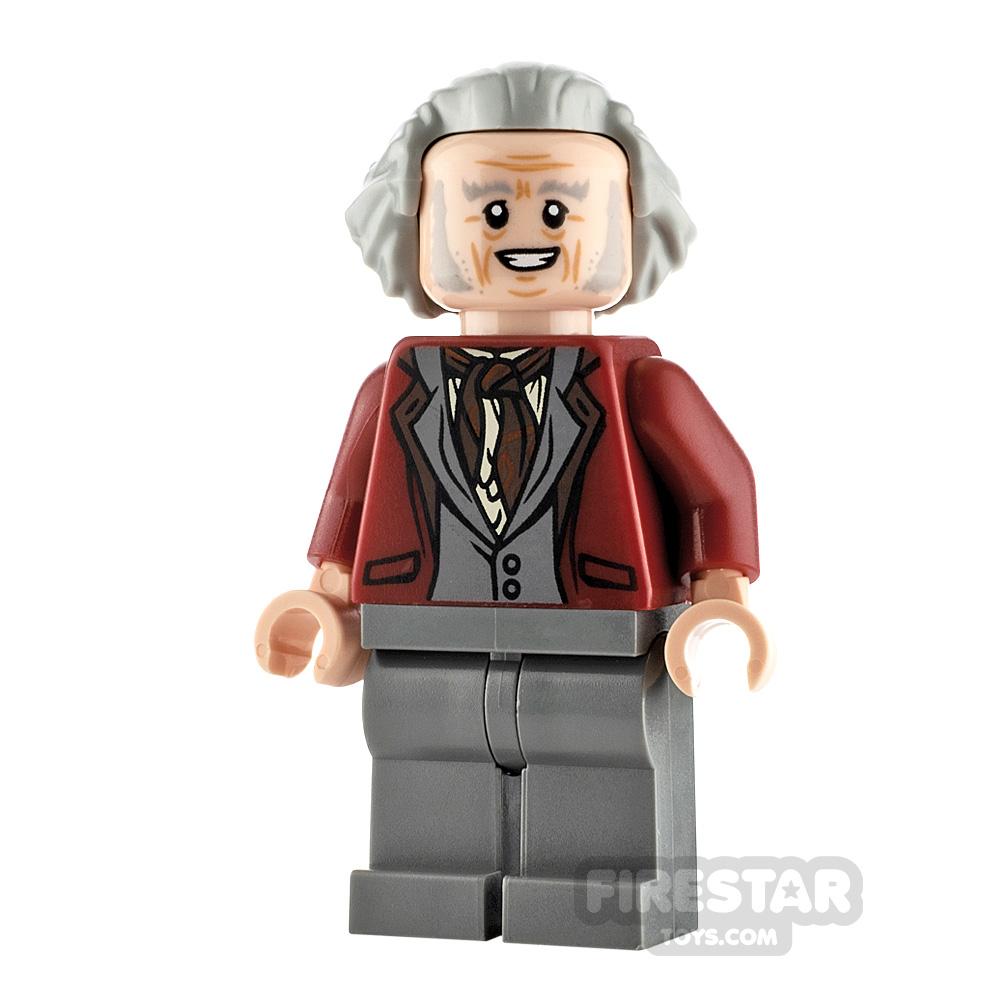LEGO Harry Potter Minifigure Garrick Ollivander Dark Red Jacket