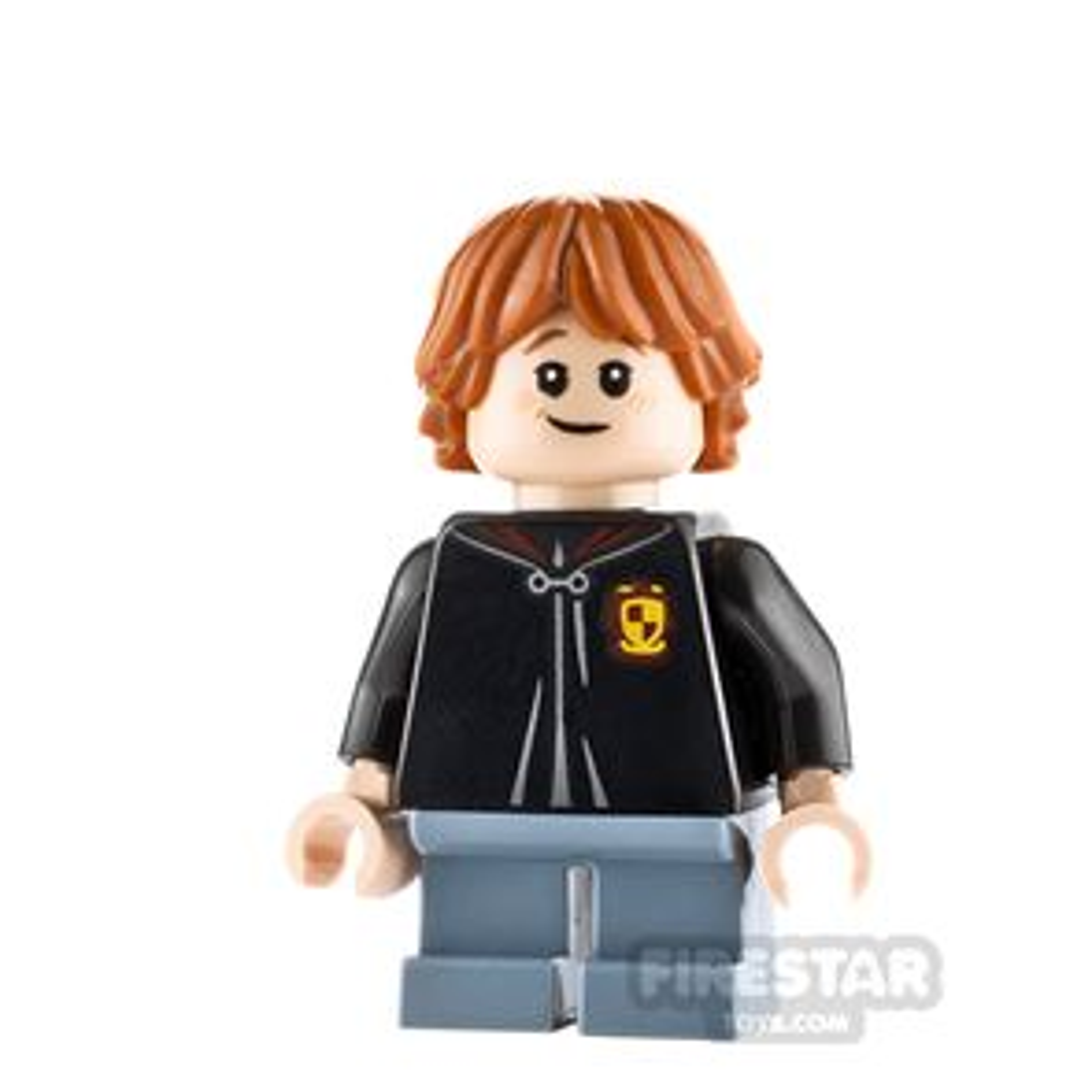 LEGO Harry Potter Minifigure Ron Weasley Gryffindor Robe