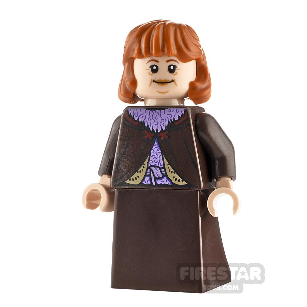 LEGO Harry Potter Minifigure Molly Weasley Dark Brown Skirt