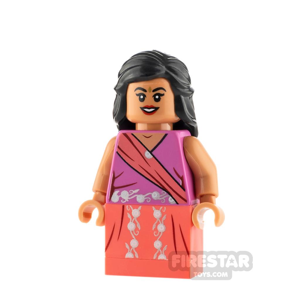 LEGO Harry Potter Minifigure Padma Patil Dark Pink Sari