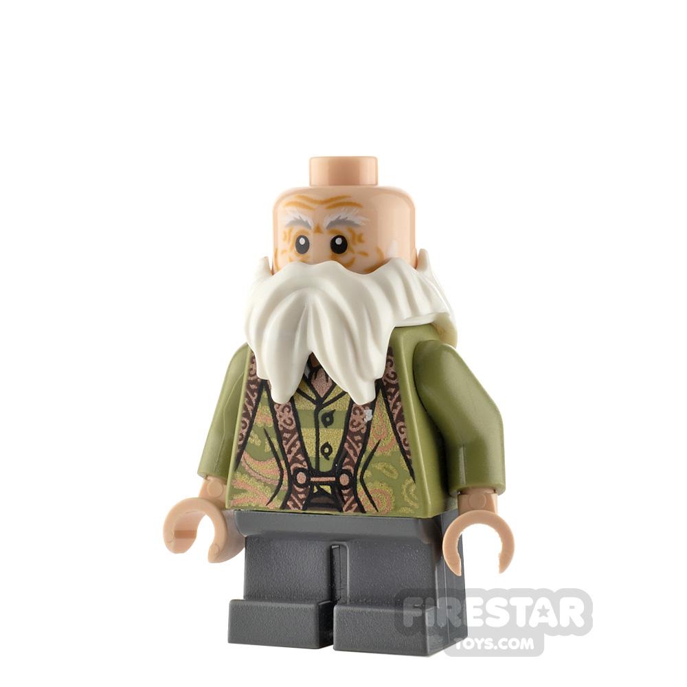 LEGO Harry Potter Minifigure Professor Flitwick Olive Green Suit