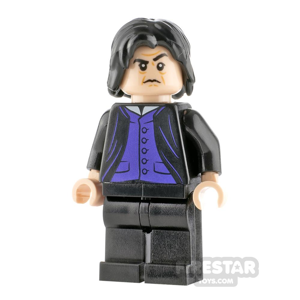 LEGO Harry Potter Minifigure Severus Snape Purple Shirt
