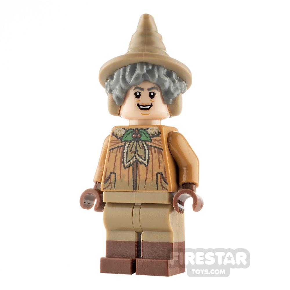LEGO Harry Potter Minifigure Professor Sprout Dirty Cloak