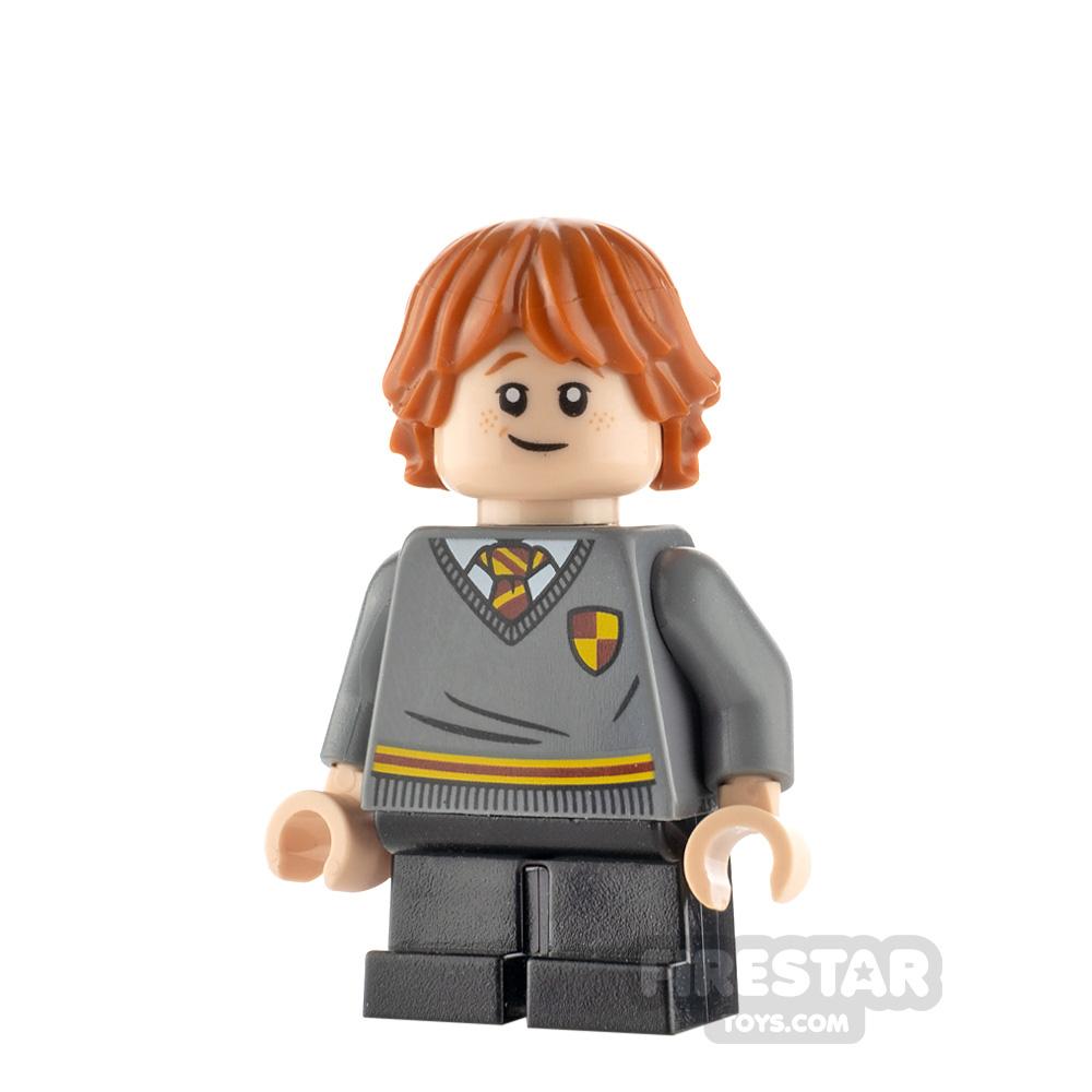 LEGO Harry Potter Minifigure Ron Weasley Gryffindor Sweater