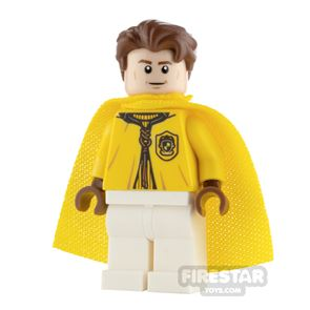LEGO Harry Potter Minifigure Cedric Diggory Quidditch Uniform