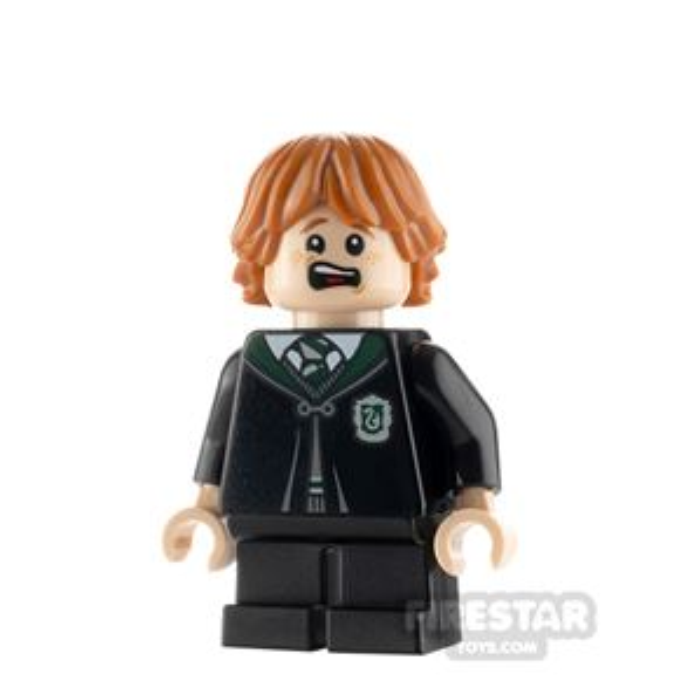 LEGO Harry Potter Minifigure Ron Weasley Slytherin