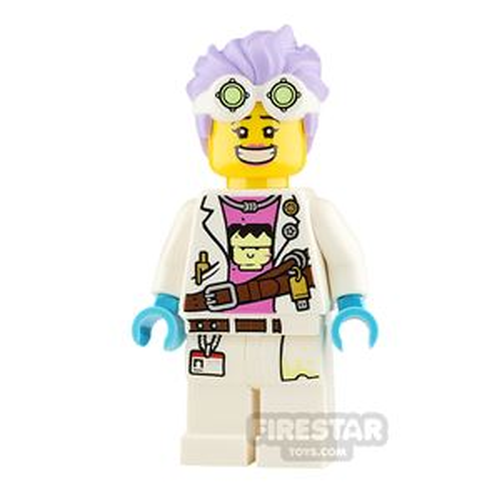 LEGO Hidden Side Minifigure J.B. Watt Smile and Annoyed