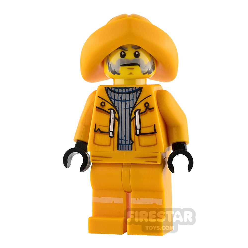 LEGO Hidden Side Minifigure Captain Jonas