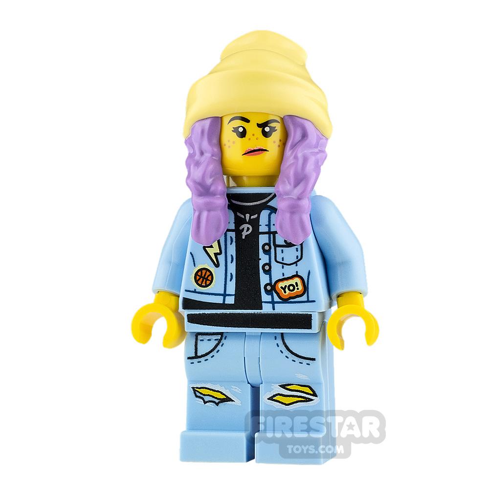 LEGO Hidden Side Minifigure Parker L. Jackson Smile and Grumpy