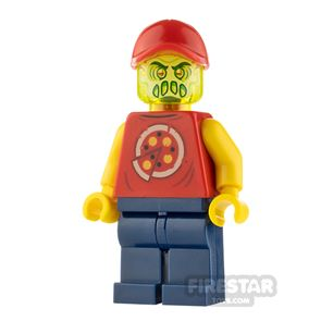 LEGO Hidden Side Minifigure Pizza Delivery Man Possessed