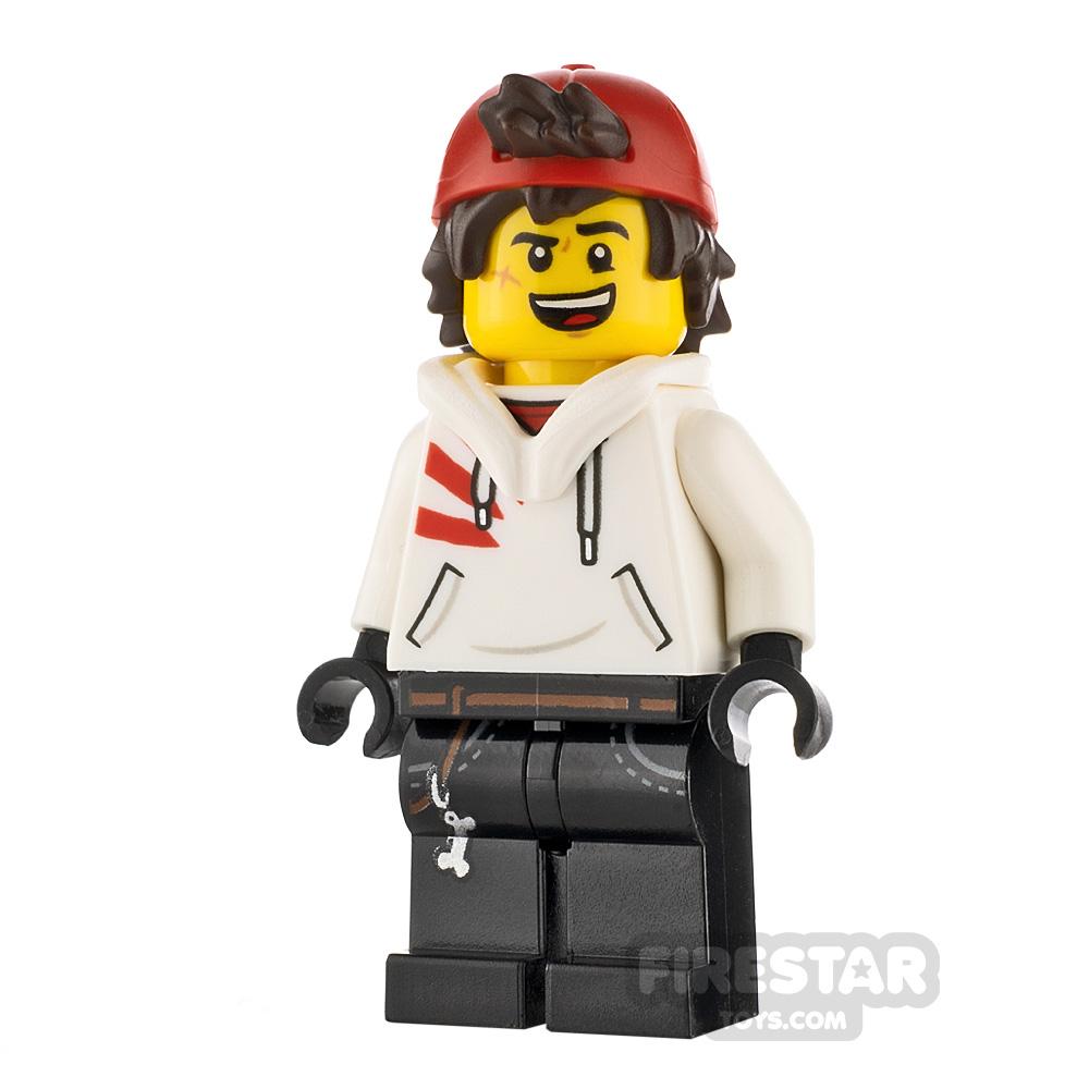 LEGO Hidden Side Minifigure Jack Davids Backwards Cap and Hood