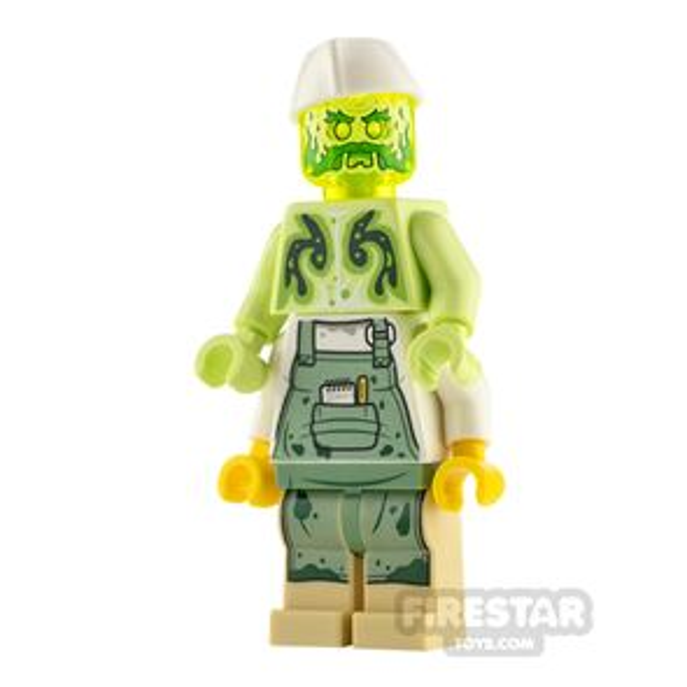 LEGO Hidden Side Minifigure Chef Enzo Possessed