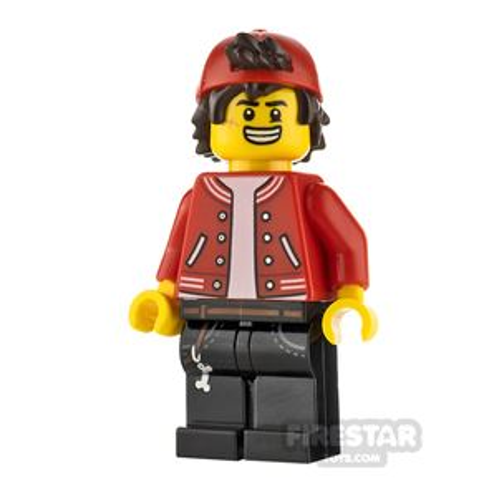 LEGO Hidden Side Minifigure Jack Davids Backwards Cap