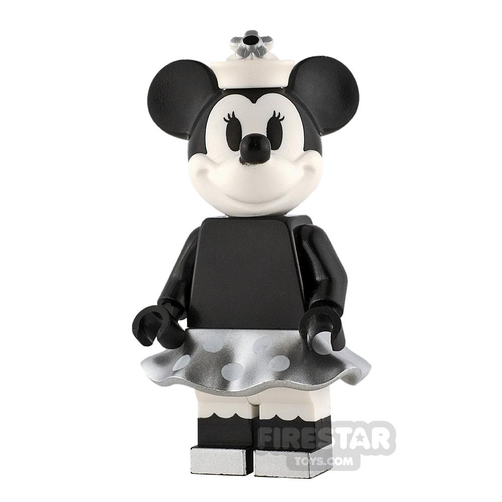 LEGO Ideas Minnie Mouse Grayscale