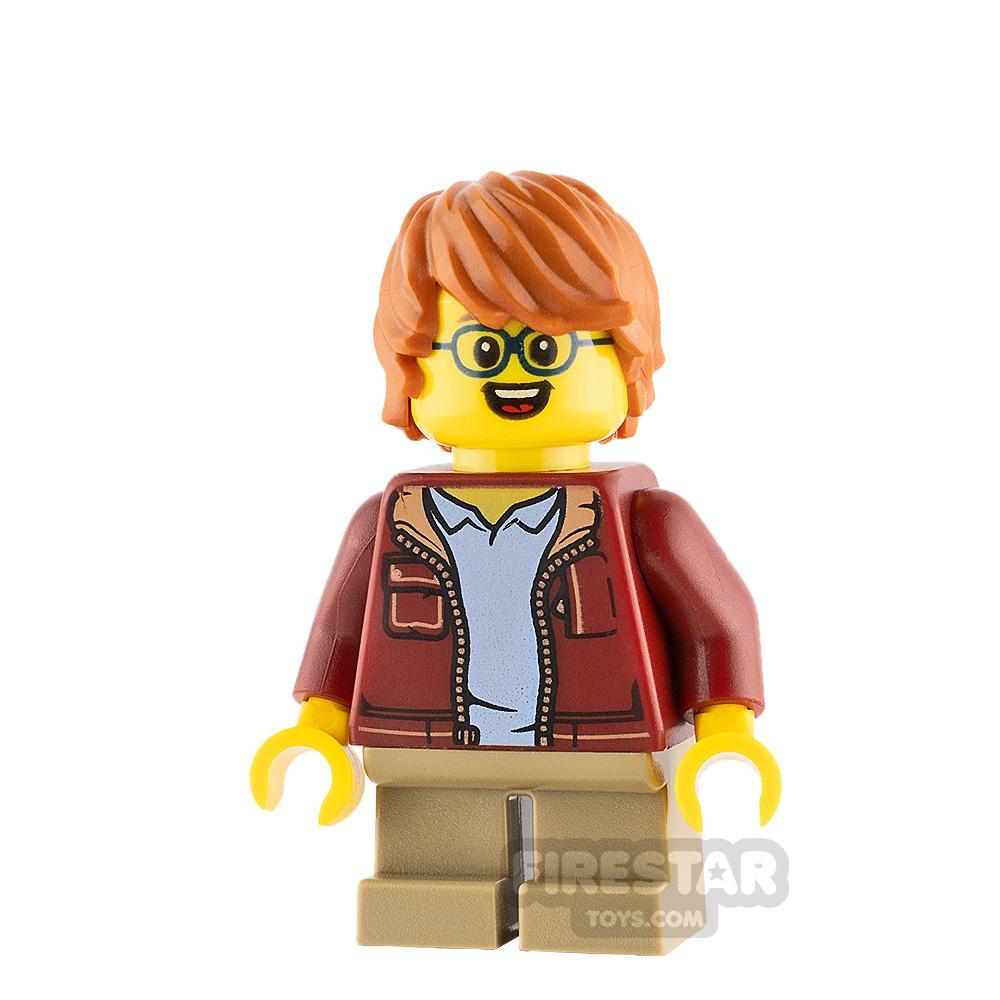 LEGO Ideas Boy Dark Red Jacket