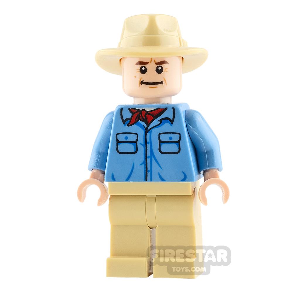 LEGO Jurassic World Minifigure Alan Grant