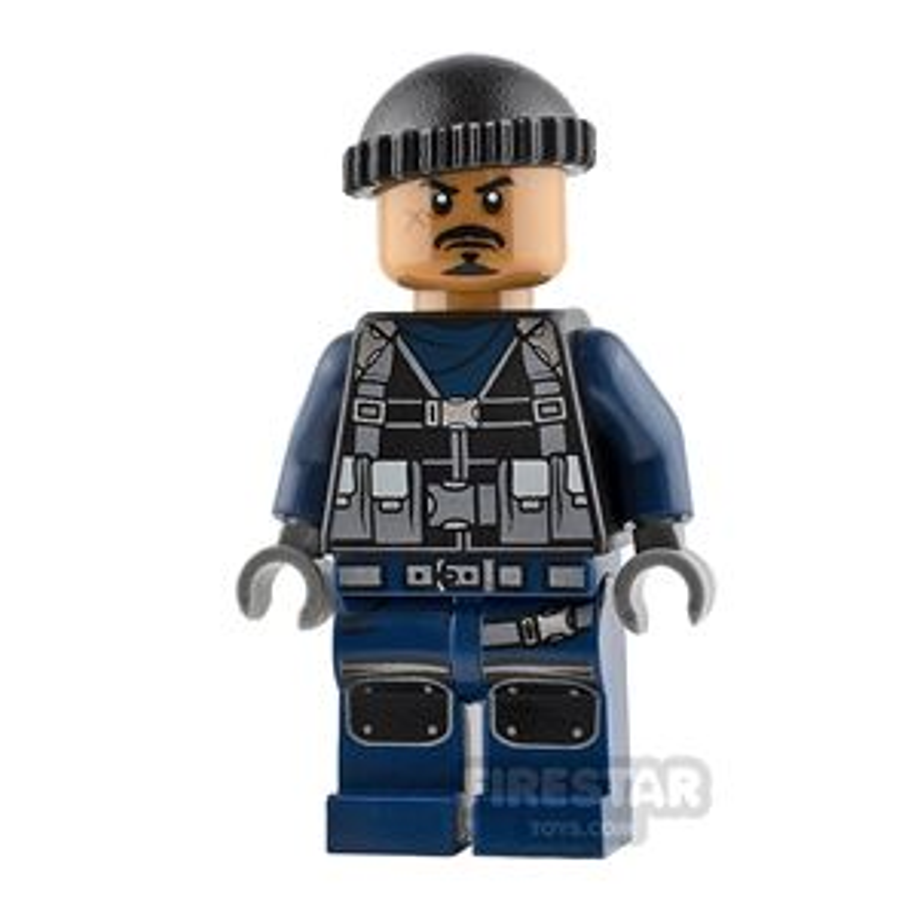 LEGO Jurassic World Figure Guard Anchor Beard